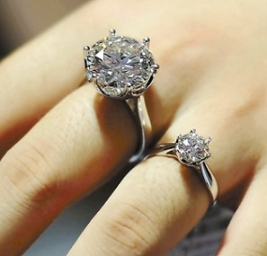 鑽石的大小