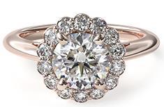 光環款式的自創戒指
